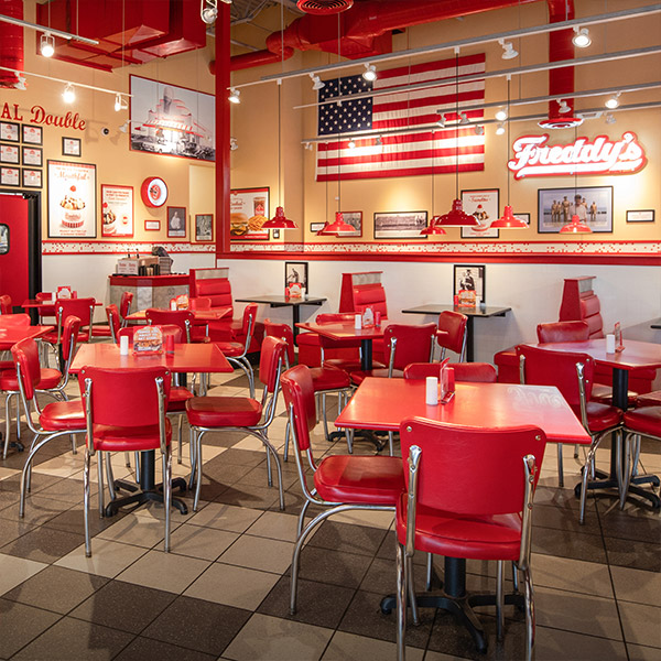 Freddy's franchise interior